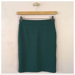 ‼️SOLD‼️ Charlotte Russe Green Pencil Skirt.